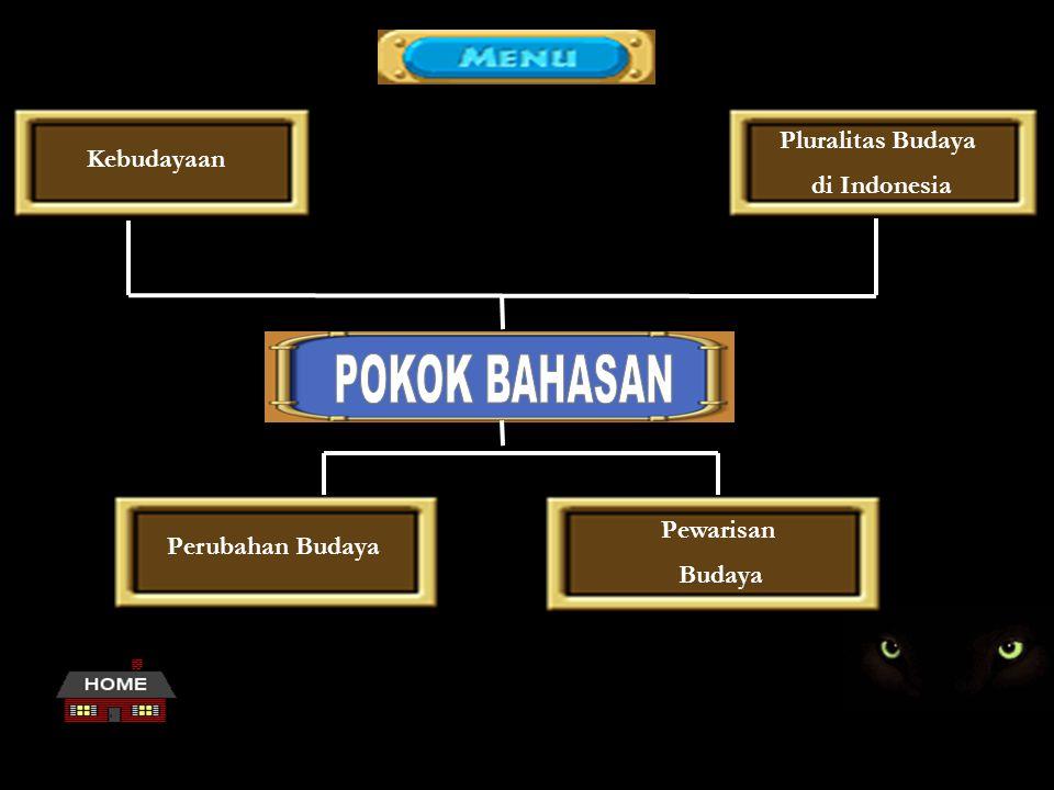 Pluralitas Budaya di Indonesia Kebudayaan Perubahan Budaya Pewarisan Budaya