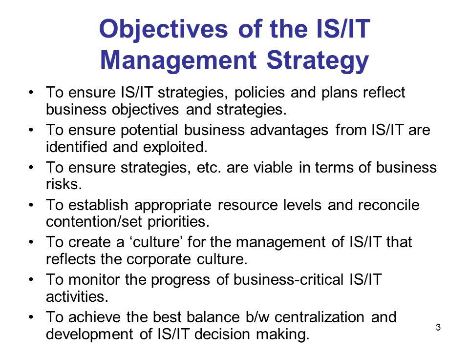 4 Traditional IT Organization Source: Luftman