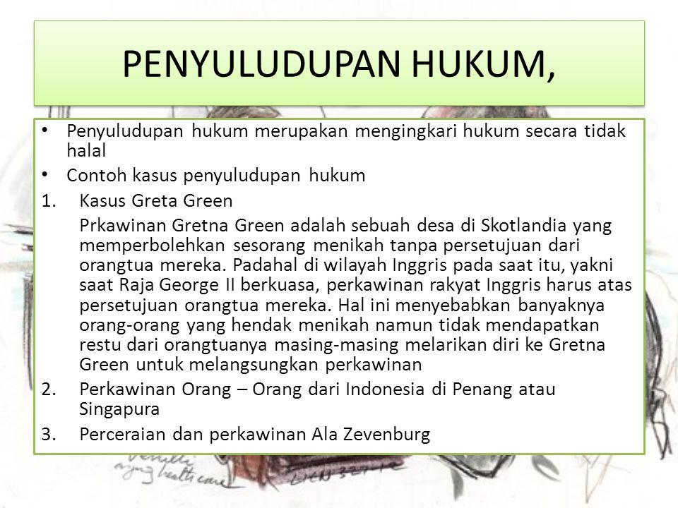 3.Naturaliste Estlandi Seorang pria warganegara Belanda v.A telah menikah di Cirebon dengan seorang perempuan Belanda.