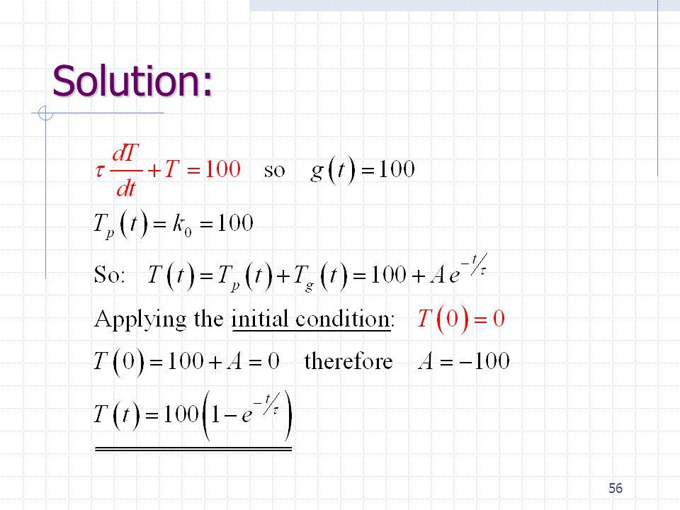 56 Solution: