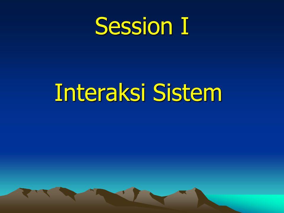 Session II Prinsip dan Dimensi Berpikir Sistem? Berpikir Sistem?