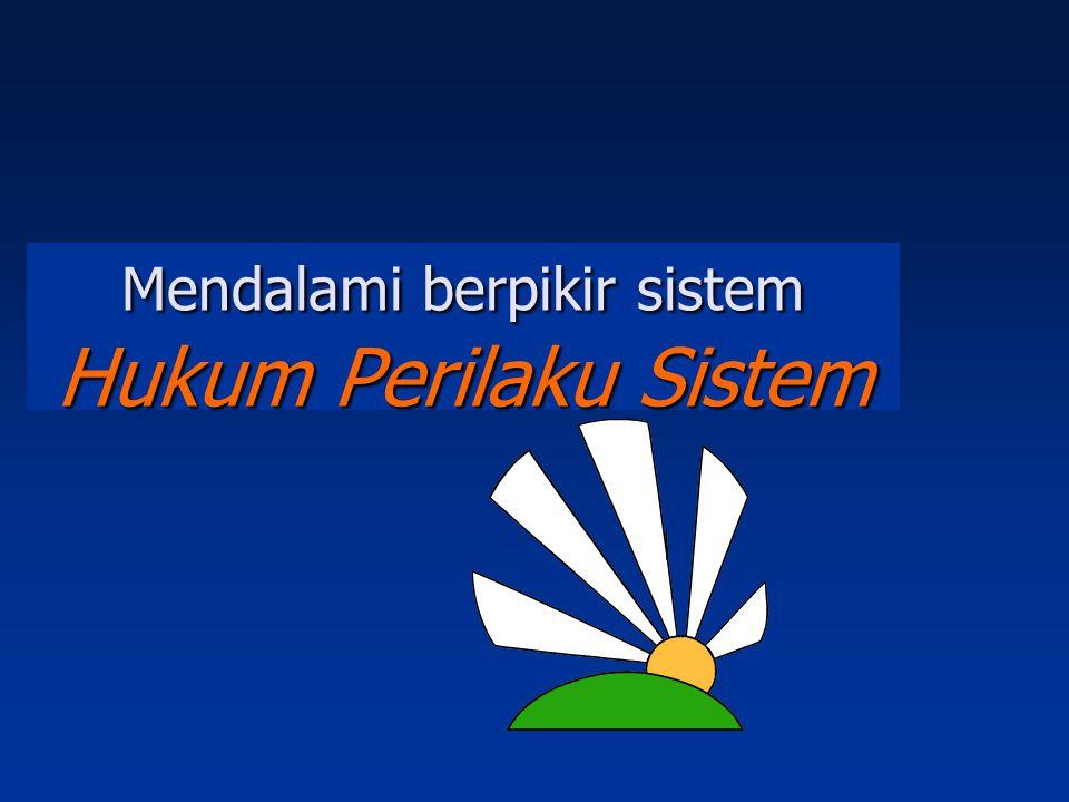 Mendalami berpikir sistem Hukum Perilaku Sistem
