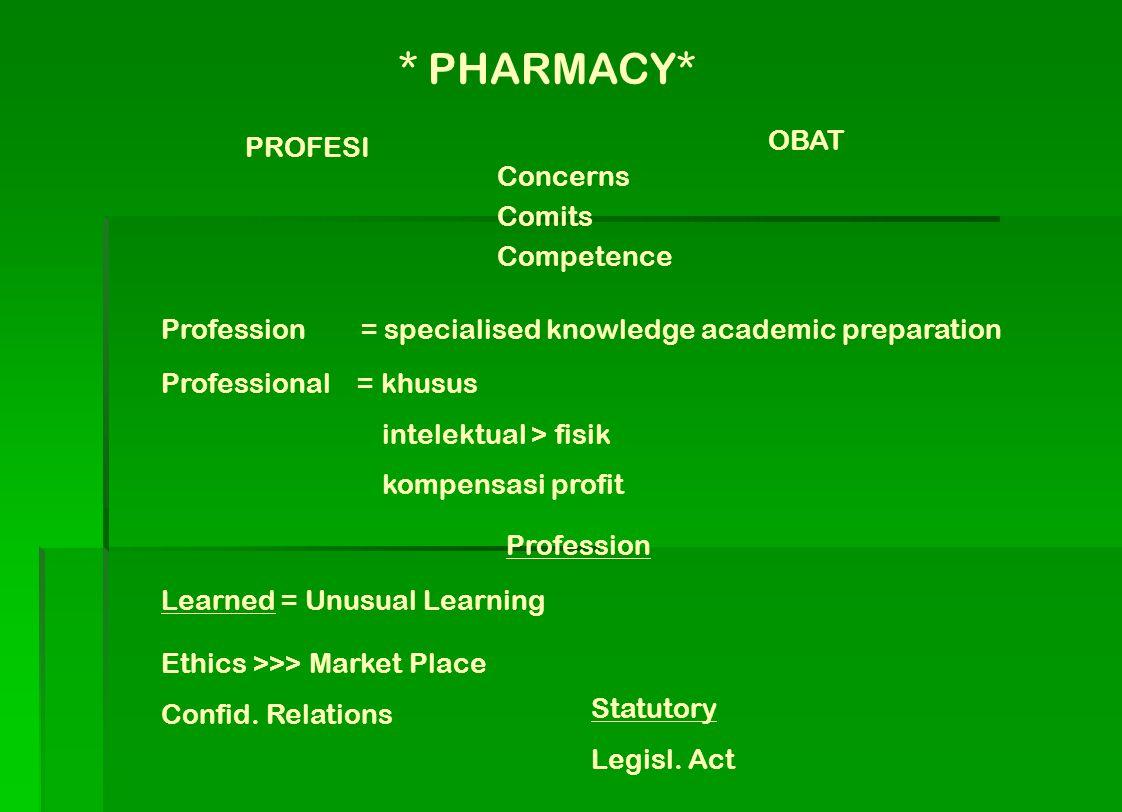 9.Selain fungsi-fungsi tersebut (data visual dapat disajikan), masih ada fungsi-fungsi yang dapat diampu oleh Farmasis, diantaranya adalah menjadi dosen di perguruan tinggi, mengajarkan salah satu ilmu pengetahuan yang relevan dan dipahaminya.
