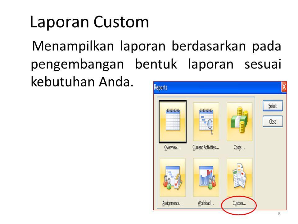Laporan Custom 7