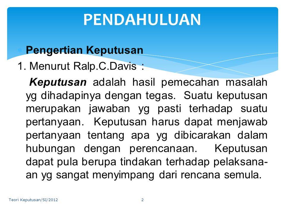 PeranDeskripsi 3.Decisional a.