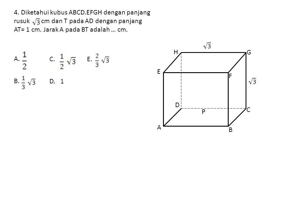 Sekarang, dapat menggunakan rumus cosinus dalam TFE untuk rumus menghitung nilai cos α. Jawabannya adalah D