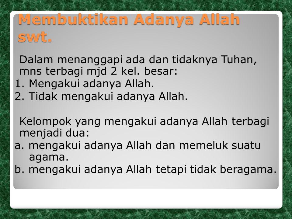 4.Dalil Penelitian Sejarah Menurut al-Qur'an, manusia pertama adalah Nabi Adam as.