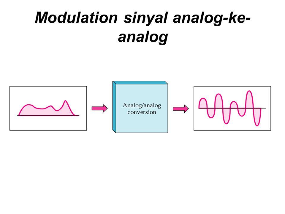 Modulation sinyal analog-ke- analog