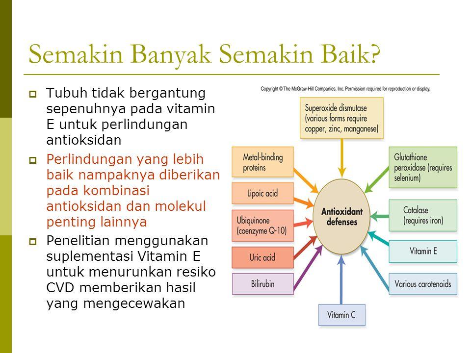 Vitamin K  Vitamin K essential untuk pembekuan darah secara normal  Penting untuk kesehatan tulang