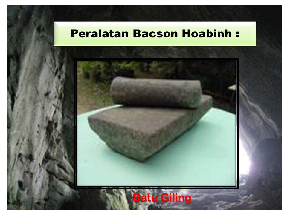 Peralatan Bacson Hoabinh : ALAT-ALAT DARI SERPIH