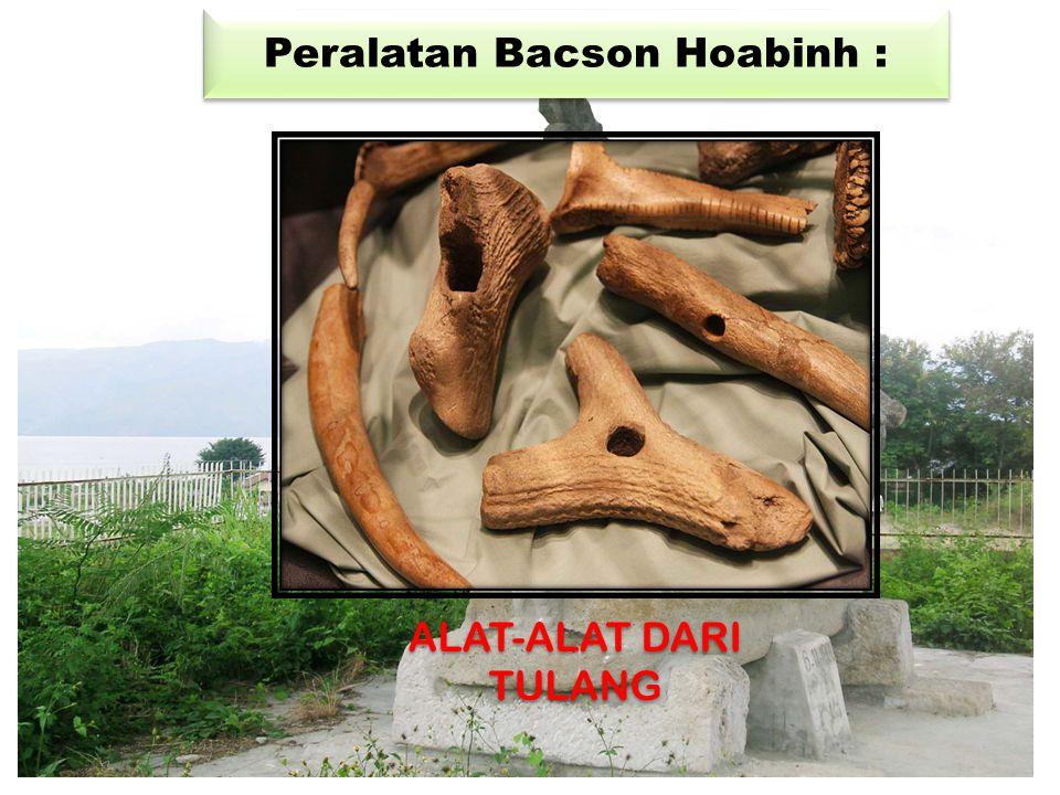 Peralatan Bacson Hoabinh : ALAT-ALAT DARI TULANG