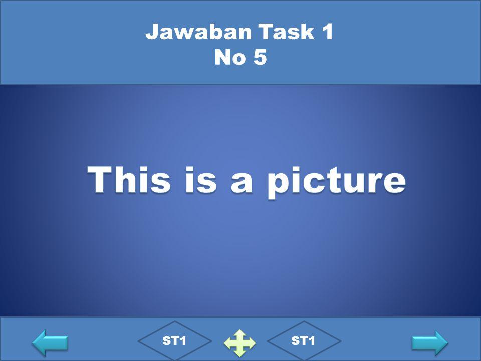 Jawaban Task 1 No 5 ST1