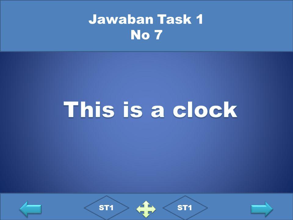 Jawaban Task 1 No 7 ST1