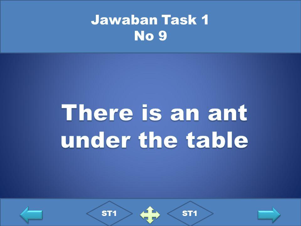 Jawaban Task 1 No 9 ST1