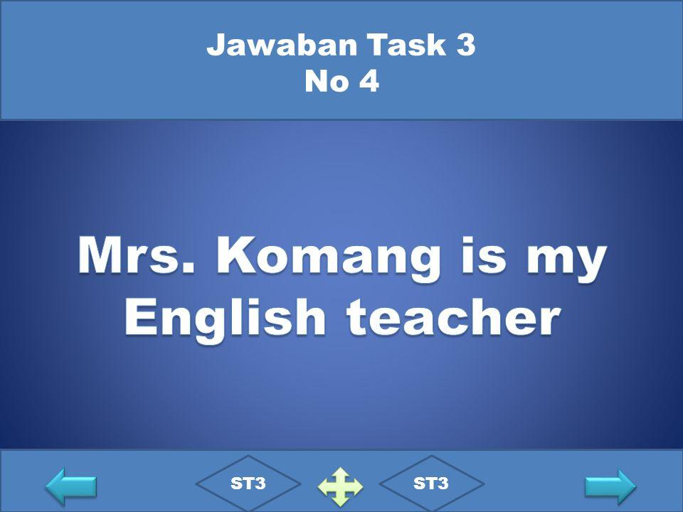 Jawaban Task 3 No 4 ST3