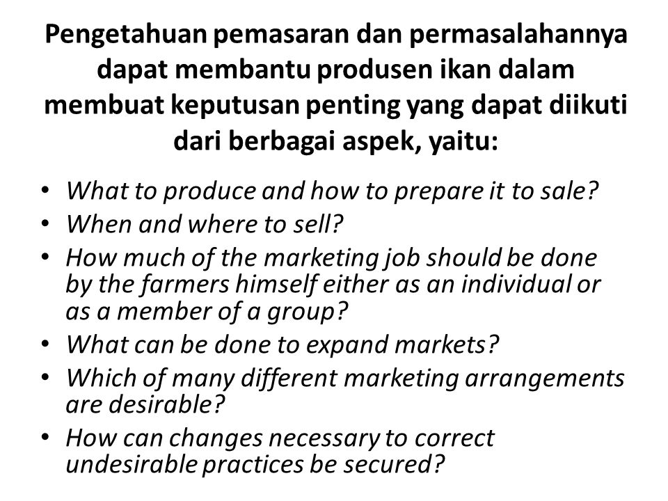 Definition of Marketing Dixie relates what he describes as a definition of marketing which is: The series of services involved in moving a product (or commodity) from the point of production to the point of consumption.