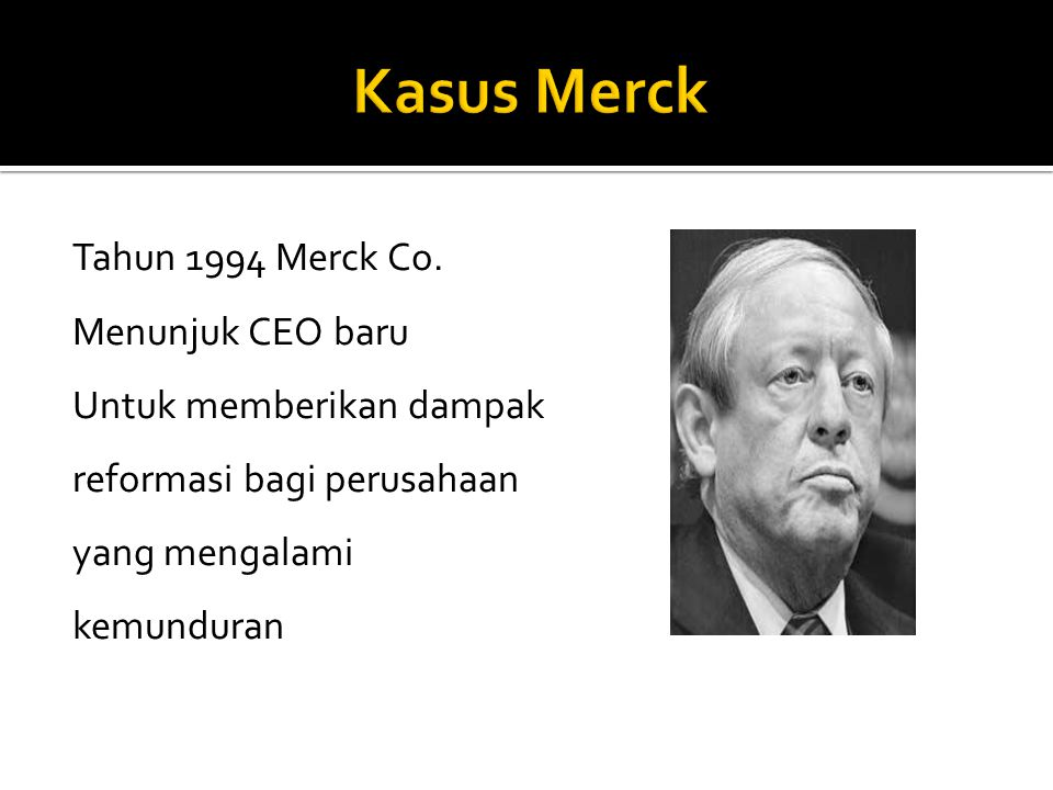 Tahun 1994 Merck Co.