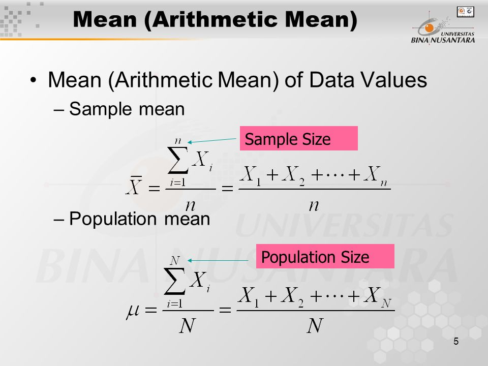26 Standard Deviation Most Important Measure of Variation Shows Variation about the Mean Has the Same Units as the Original Data –Sample Standard Deviation: –Population Standard Deviation: Atau akar dari { }