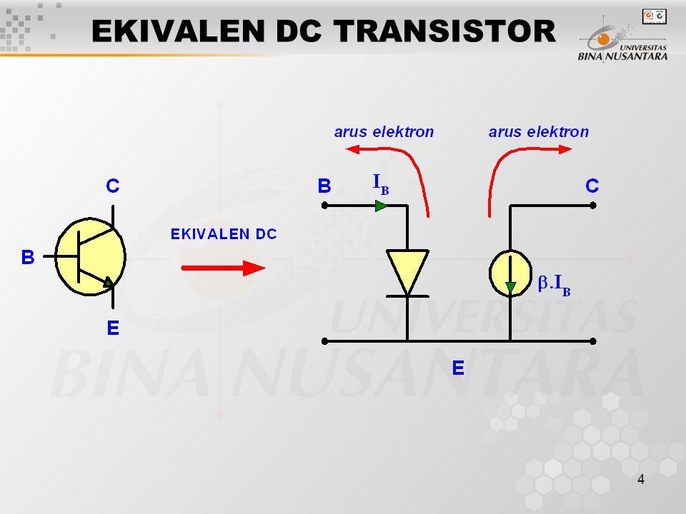 4 EKIVALEN DC TRANSISTOR