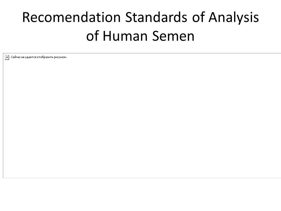 KategoriJumlahSperma  Menurut WHO : 1.Normozoospermia  Jumlahsperma> 20 juta/mL 2.