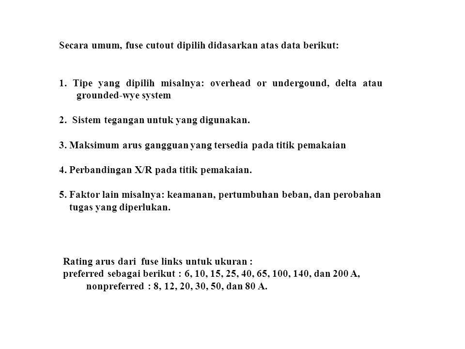 10-11 GANGGUAN HUBUNG SINGKAT Gangguan hubung singkat pada sistem distribusi: 1.