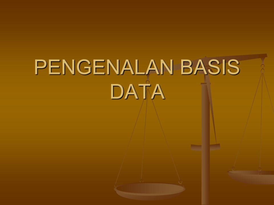 Basis Data Adalah…..