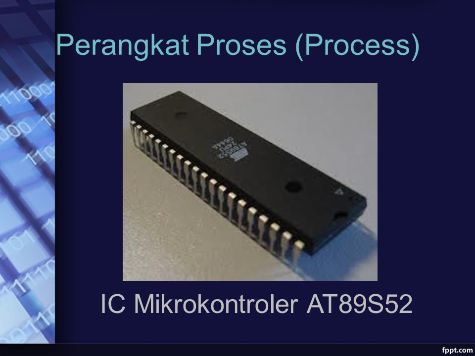 Perangkat Proses (Process) IC Mikrokontroler AT89S52