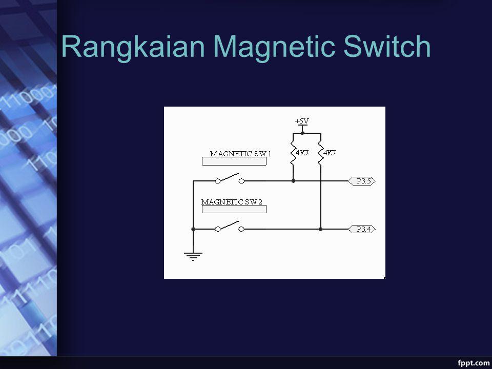 Rangkaian Magnetic Switch
