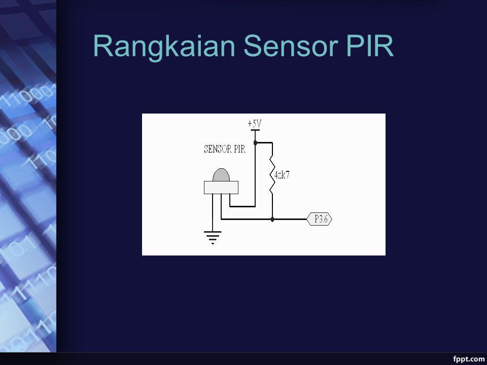 Rangkaian Sensor PIR