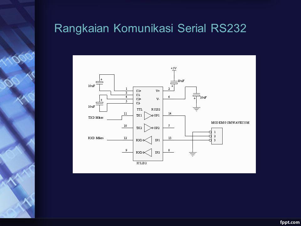Rangkaian Komunikasi Serial RS232