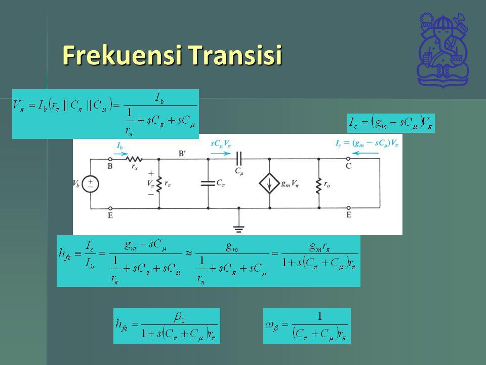 Frekuensi Transisi