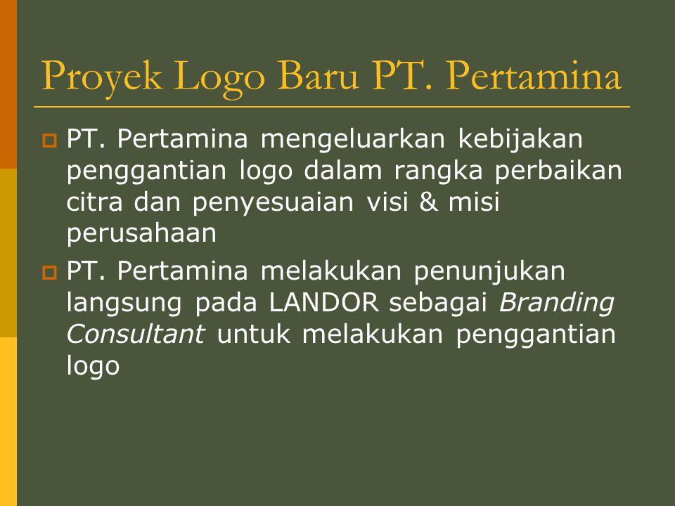 Proyek Logo Baru PT.Pertamina  PT.