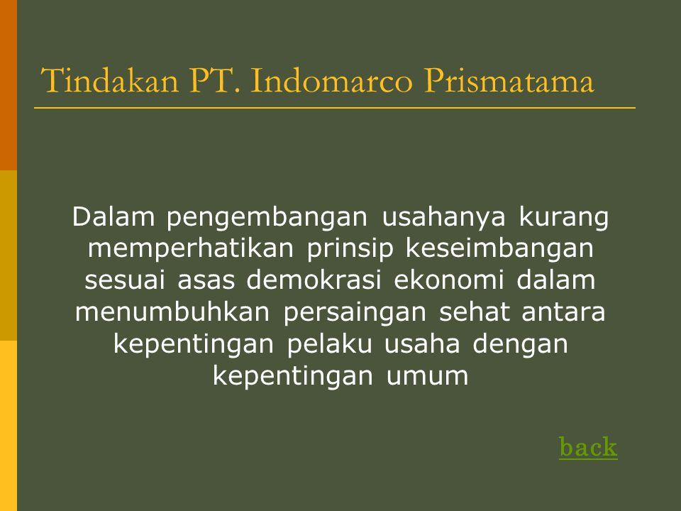 Tindakan PT.