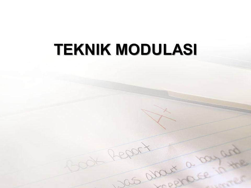 TEKNIK MODULASI