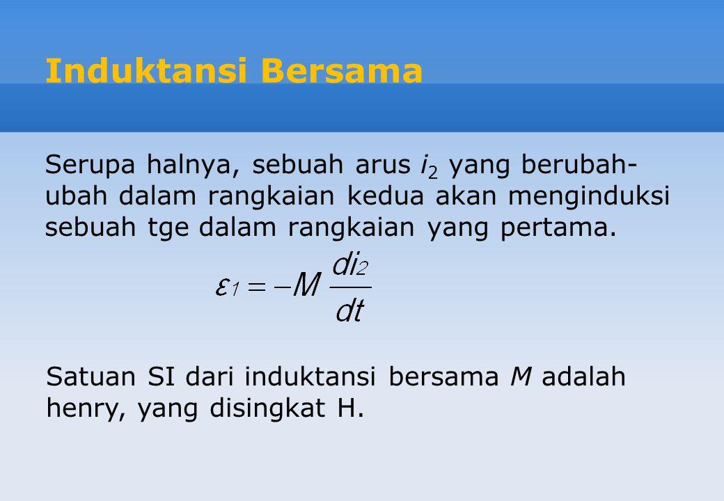 25 1. Hitung nilai induktansi sebuah solenoida jika N = 100, l = 5 cm, dan A = 0,30 cm 2.