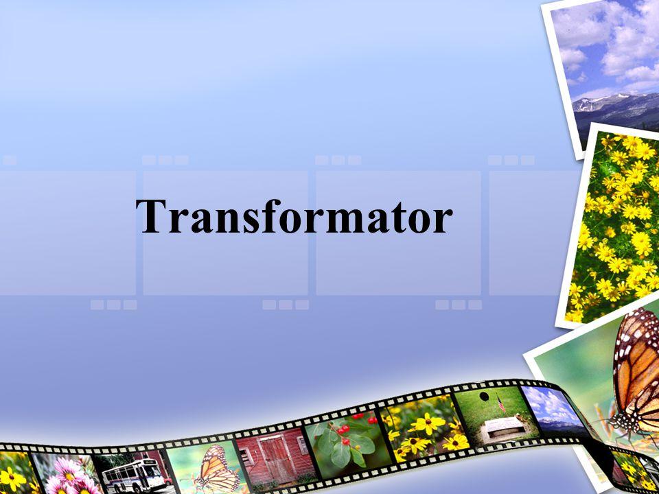 Transformator terdiri dari dua kumparan (primer dan sekunder) yang saling tersekat secara elektris dan terlilit di atas sebuah bahan inti biasa yang membentuk suatu sirkit magnetis tertutup, sehingga kedua kumparan terhubung secara berbalasan.