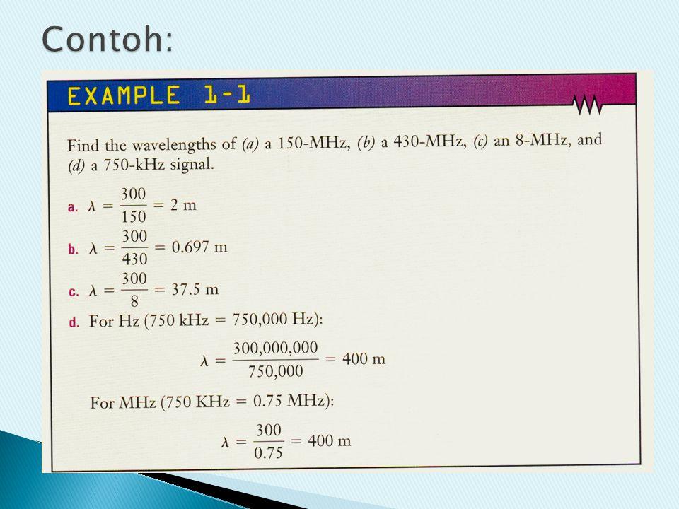 Modulator RF power amp Carrier (oscillator) info Oscillator membangkitkan gelombang sinusoidal dengan frekuensi yang di-set sesuai keinginan/rancangan Informasi dikirim dengan cara menitipkan -nya pada suatu gelombang pembawa (carrier).