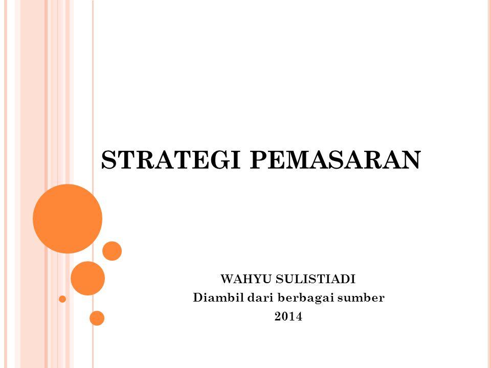 BBP STRATEGI PEMASARAN Untuk mencapai keunggulan bersaing, d iantaranya : Strategi penetrasi pasar Strategi pengembangan pasar Straegei pengembangan produk Segmentasi pasar (Zimmerer dan Scarborough, 2002)