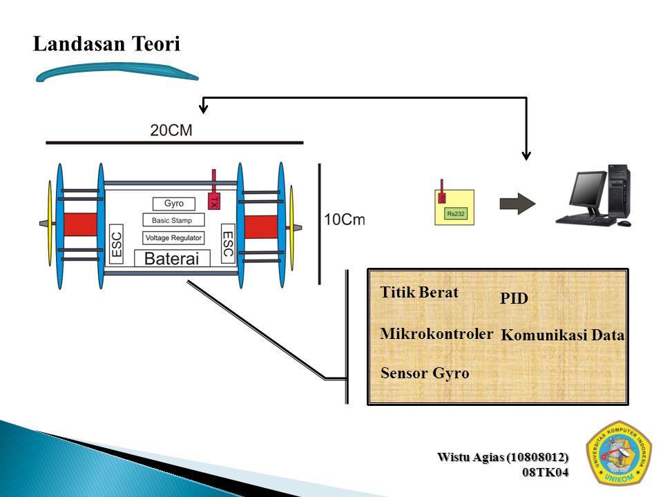 08TK04 Titik Berat PID Sensor Gyro Mikrokontroler Landasan Teori Komunikasi Data