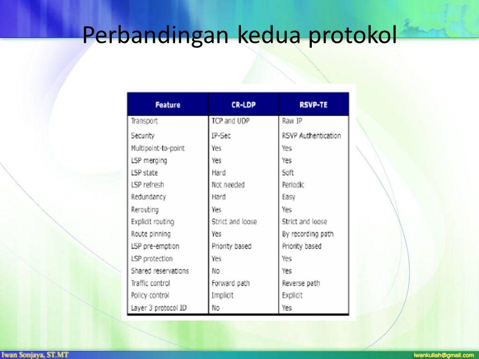 Perbandingan kedua protokol