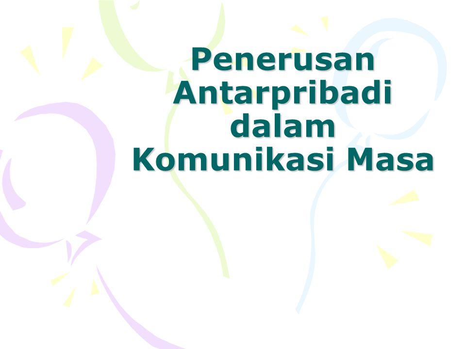 Komunikasi Antarpribadi Komunikasi Antarpribadi adalah komunikasi yang berlangsung dalam situasi tatap muka antara dua orang atau lebih, baik secara terorganisasi maupun pada kerumunan orang (Wiryanto, 2004).