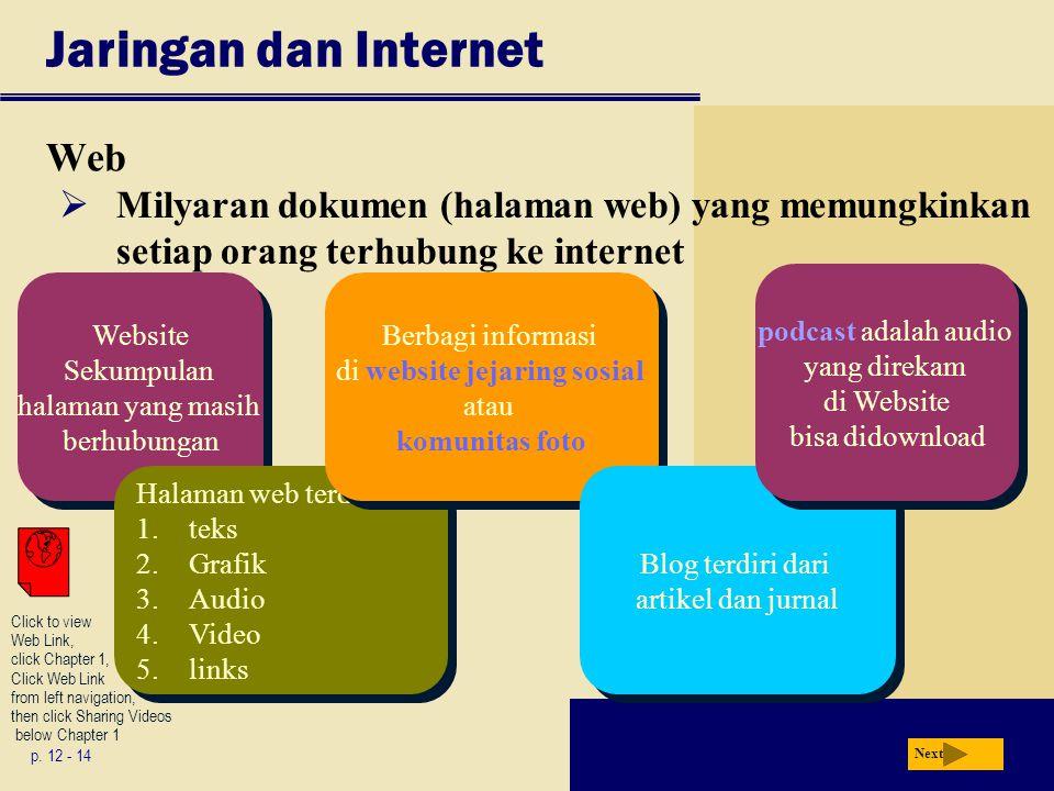 Jaringan dan Internet Web p.