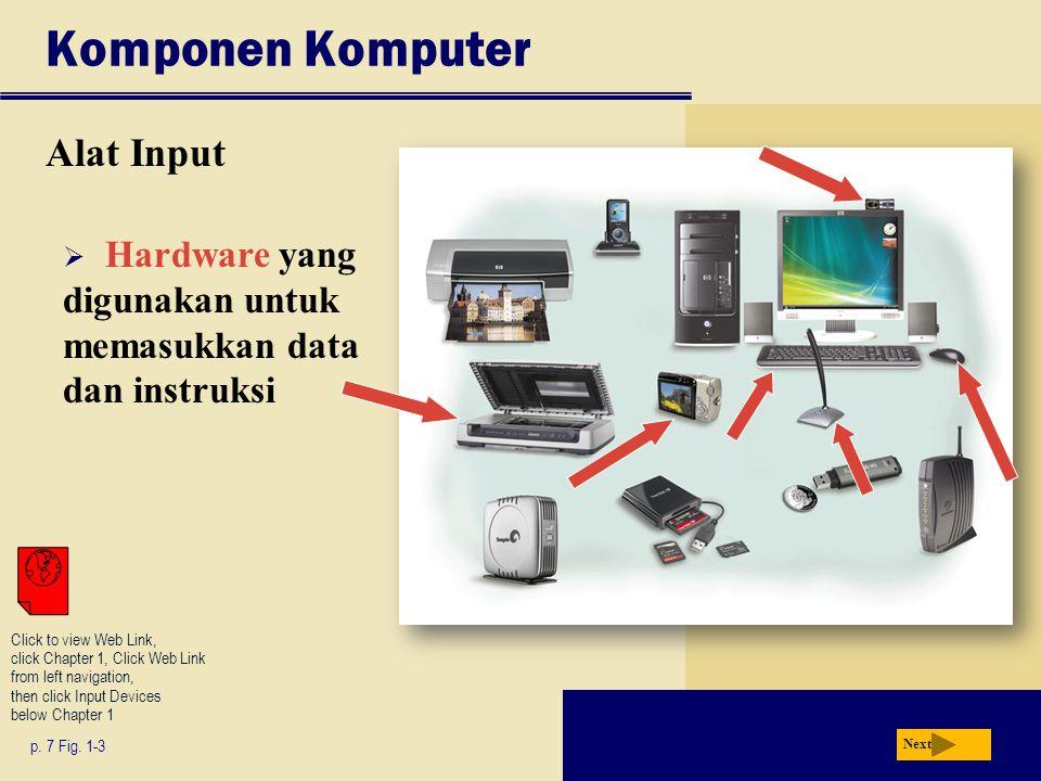 Komponen Komputer Alat Input p.7 Fig.
