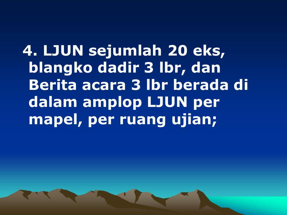IV.PELAKSANAAN UN A. JADWAL UN 1.UN dilakukan dua kali, yaitu UN UTAMA dan UN ULANGAN; 2.