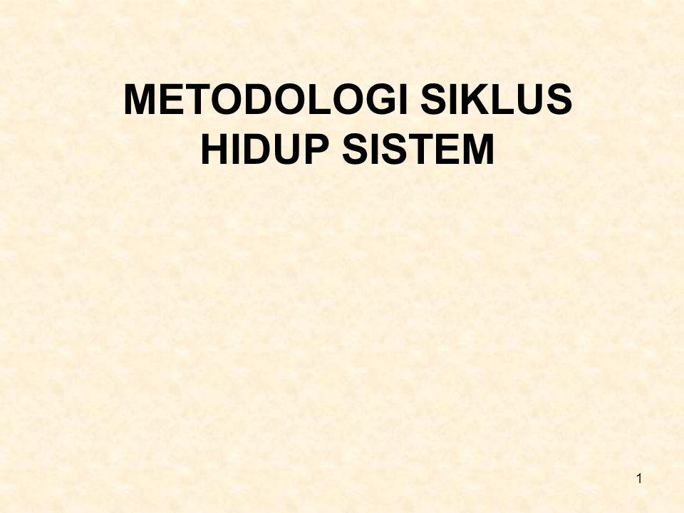 1 METODOLOGI SIKLUS HIDUP SISTEM