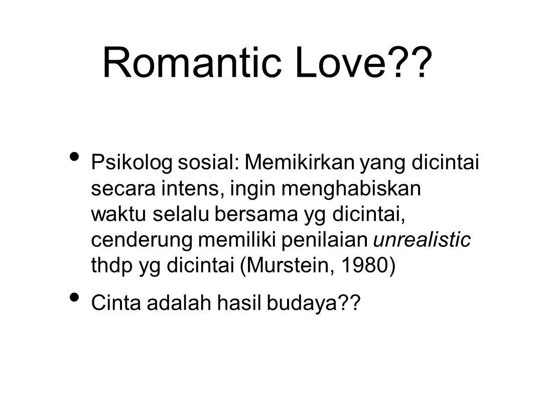 Romantic Love?.