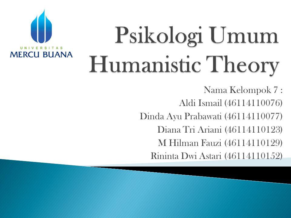 Nama Kelompok 7 : Aldi Ismail (46114110076) Dinda Ayu Prabawati (46114110077) Diana Tri Ariani (46114110123) M Hilman Fauzi (46114110129) Rininta Dwi Astari (46114110152)