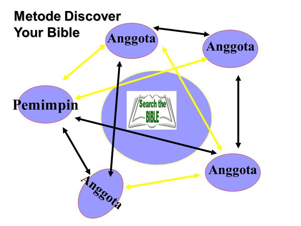Pemimpin Anggota ? Metode Discover Your Bible Anggota