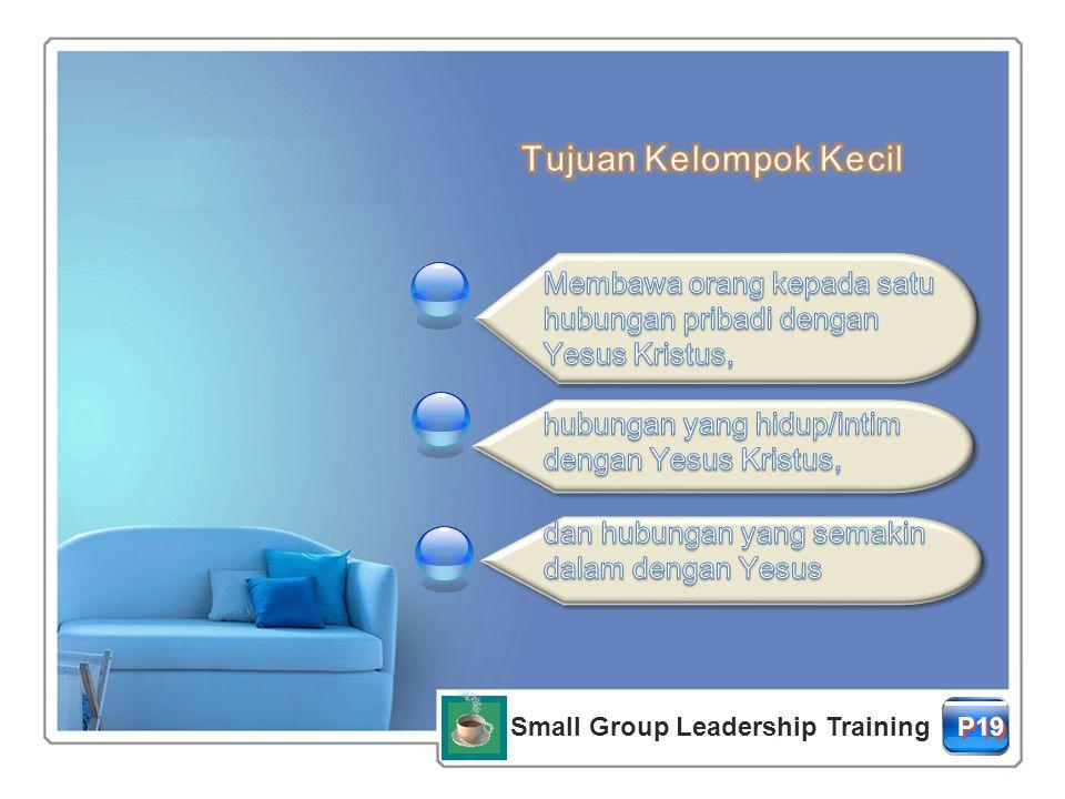E-mail: coffeebreak.ina@gmail.com Phone: 0819-32111878 FB: ina coffee break Blog: globalcoffeebreakindonesia.wordpress.com Small Group Leadership Training