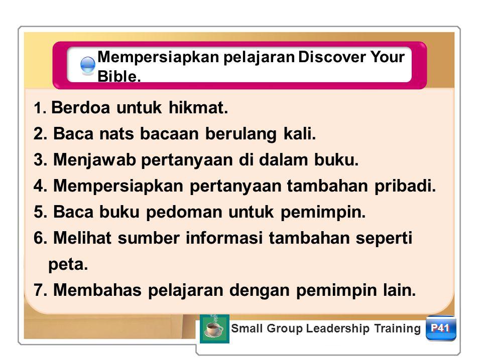 P41 Mempersiapkan pelajaran Discover Your Bible.1.